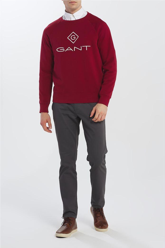 """Gant ανδρικό φούτερ """"Logo Crew"""" 1"""