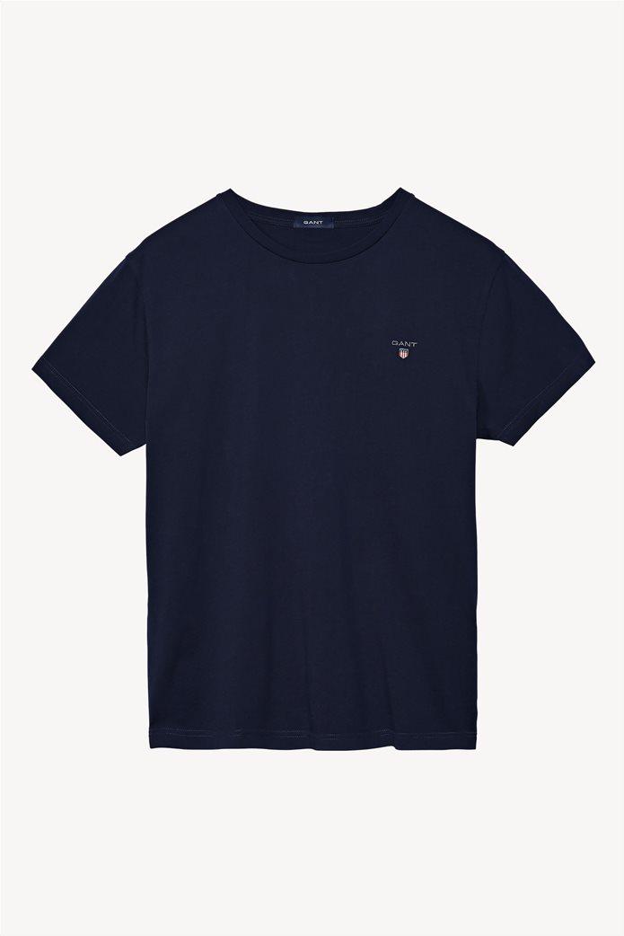 "Gant ανδρικό T-shirt με κεντημένο λογότυπο ""Original"" 0"
