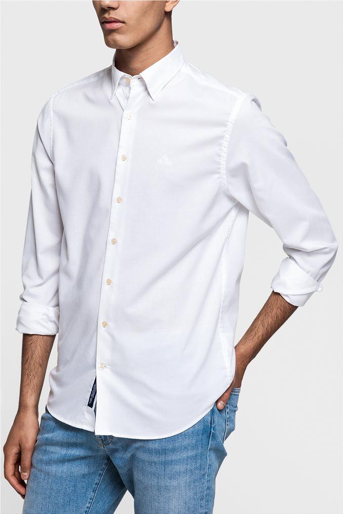 Ανδρικό πουκάμισο Oxford Plain Reg HBD Gant 0