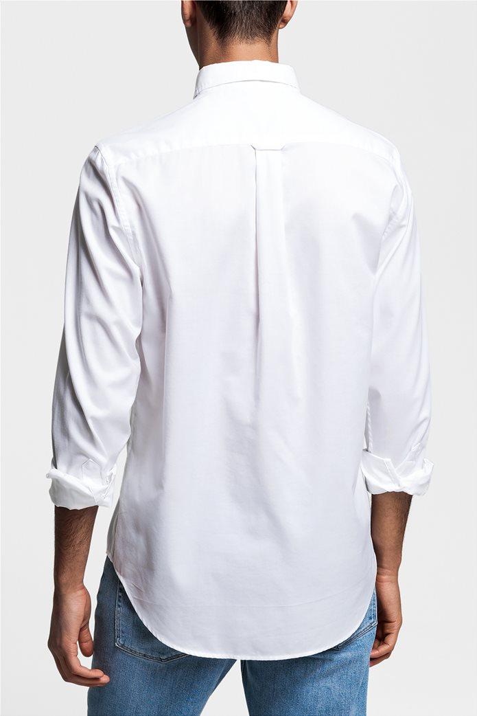 Ανδρικό πουκάμισο Oxford Plain Reg HBD Gant 1