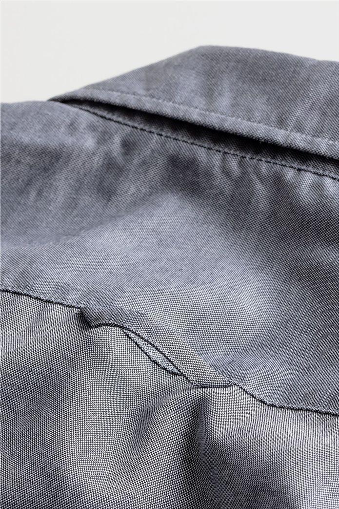 """Gant ανδρικό πουκάμισο μονόχρωμο Slim Fit """"Tech Prep™ Oxford"""" 2"""