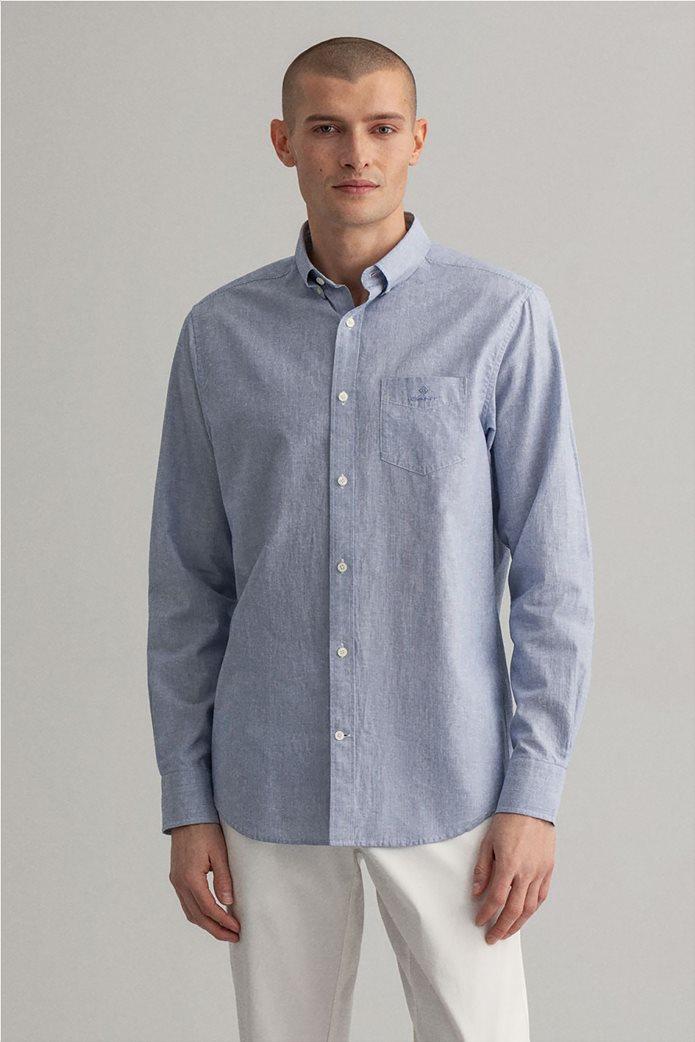 "Gant ανδρικό πουκάμισο Regular Fit ""Micro Stripe"" 0"