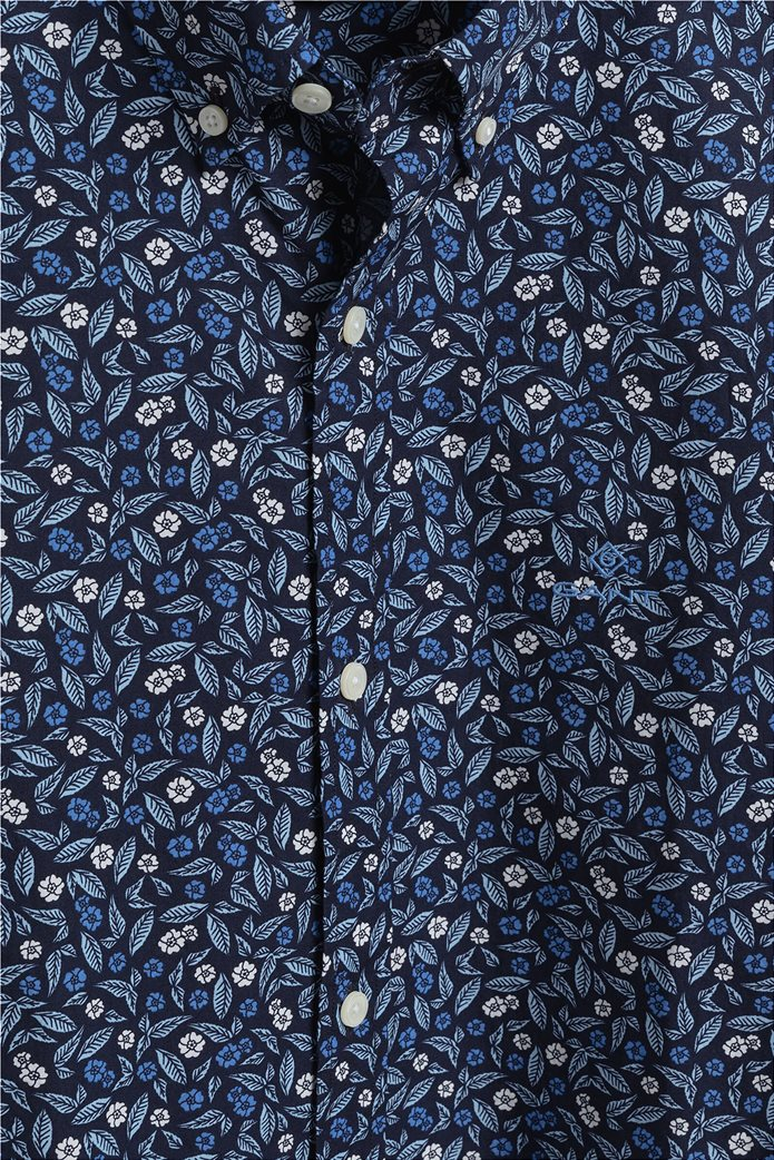 Gant ανδρικό πουκάμισο με all-over leaf print 1