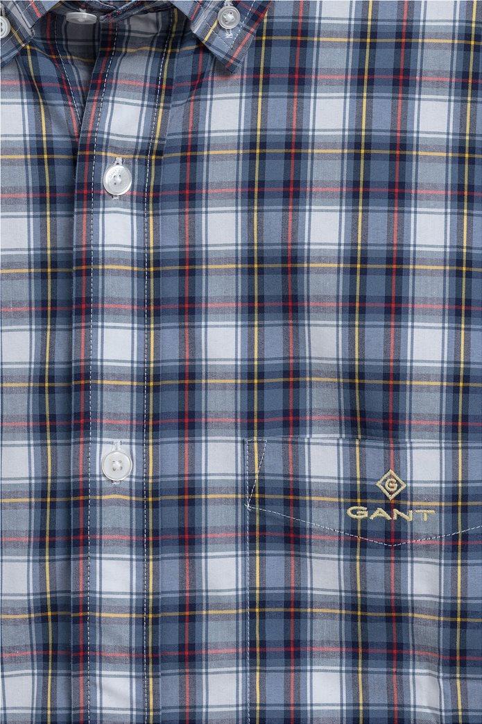 "Gant ανδρικό πουκάμισο καρό με button down γιακά ""Tech Prep ™"" 1"