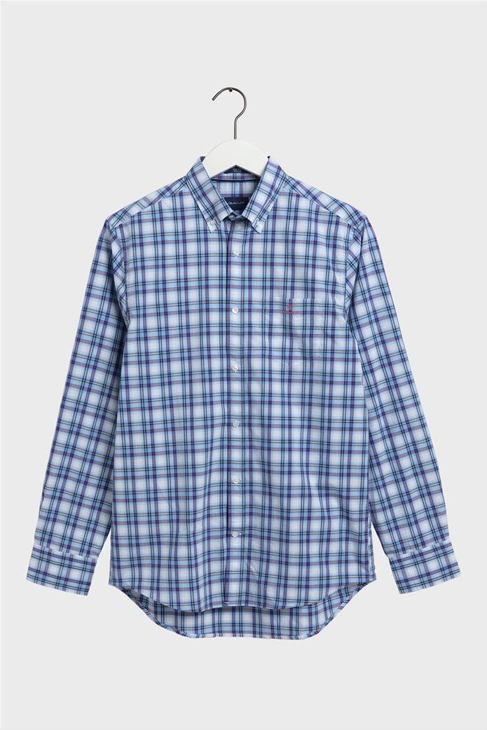 "Gant ανδρικό πουκάμισο καρό με button down γιακά ""Tech Prep ™"" 0"