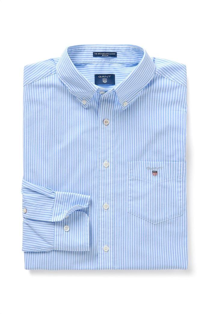 Gant ανδρικό πουκάμισο ριγέ Regular Broadcloth Banker 0