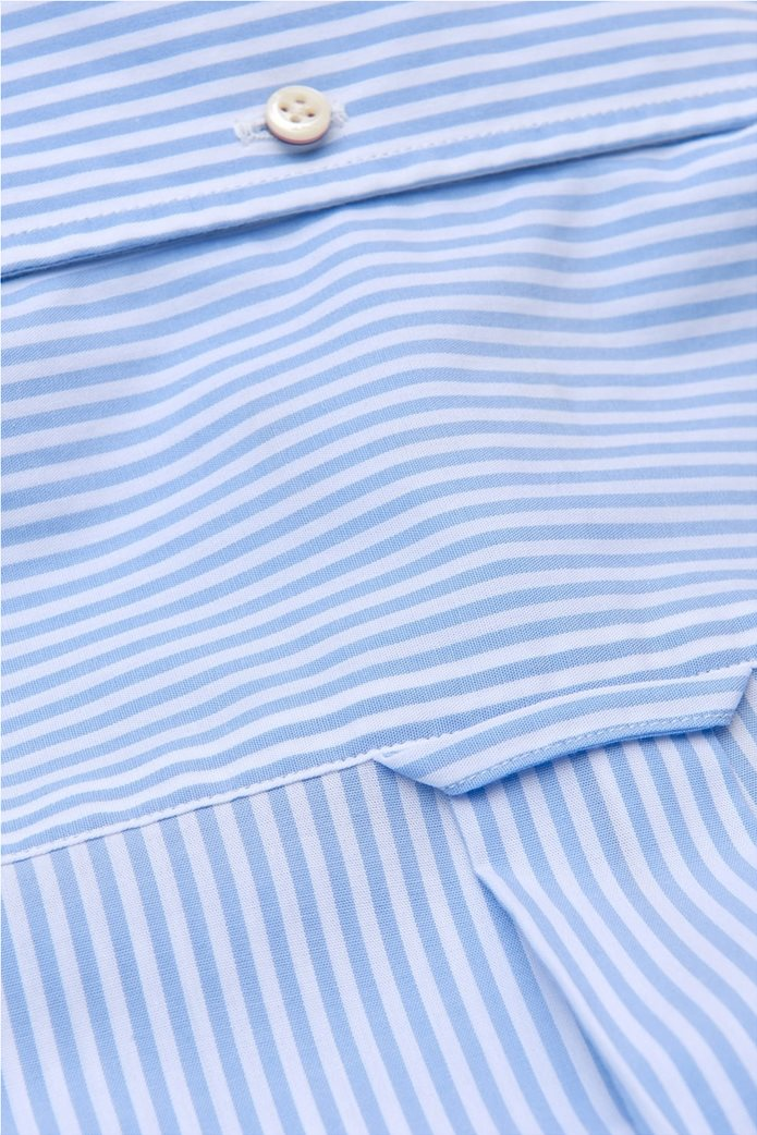 Gant ανδρικό πουκάμισο ριγέ Regular Broadcloth Banker 2