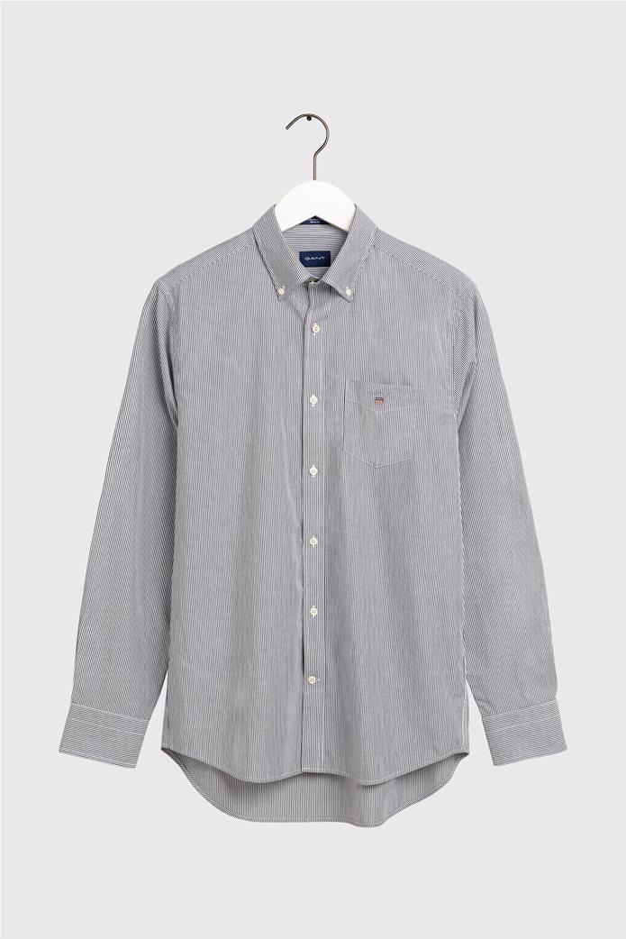 "Gant ανδρικό ριγέ πουκάμισο μακρυμάνικο ""Banker Broadcloth"" 3"