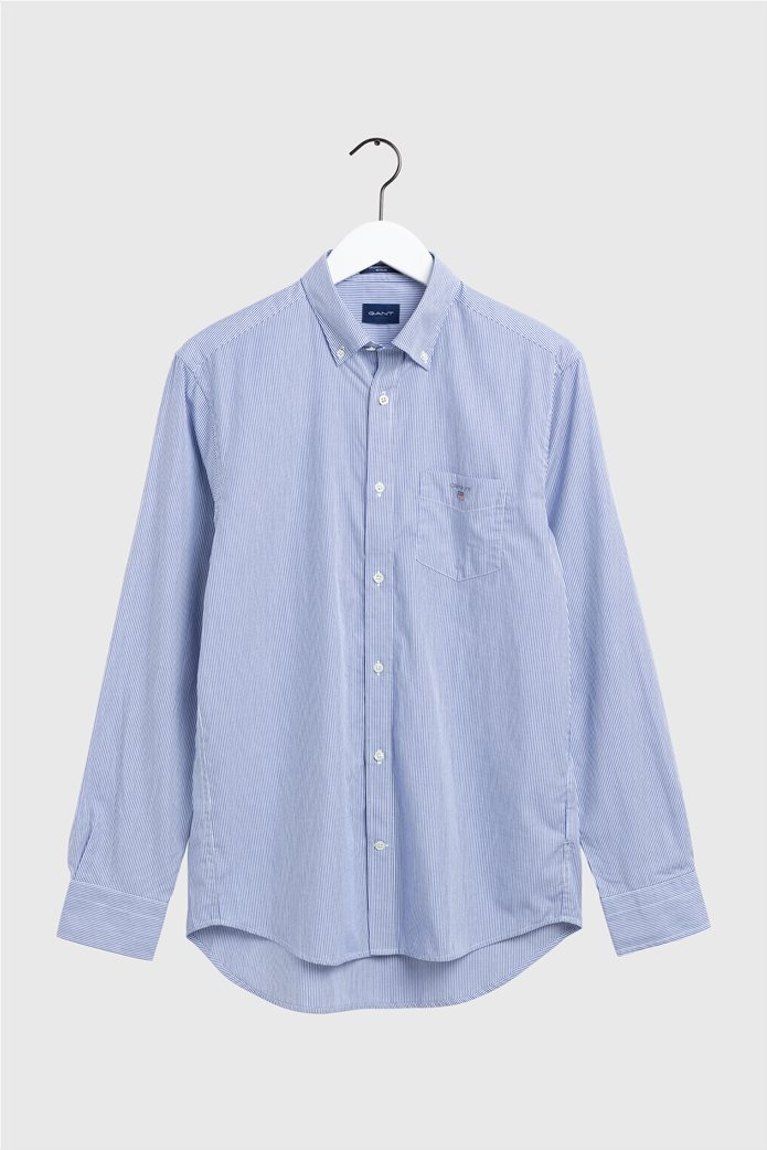"Gant ανδρικό ριγέ πουκάμισο μακρυμάνικο ""Banker Broadcloth"" 0"