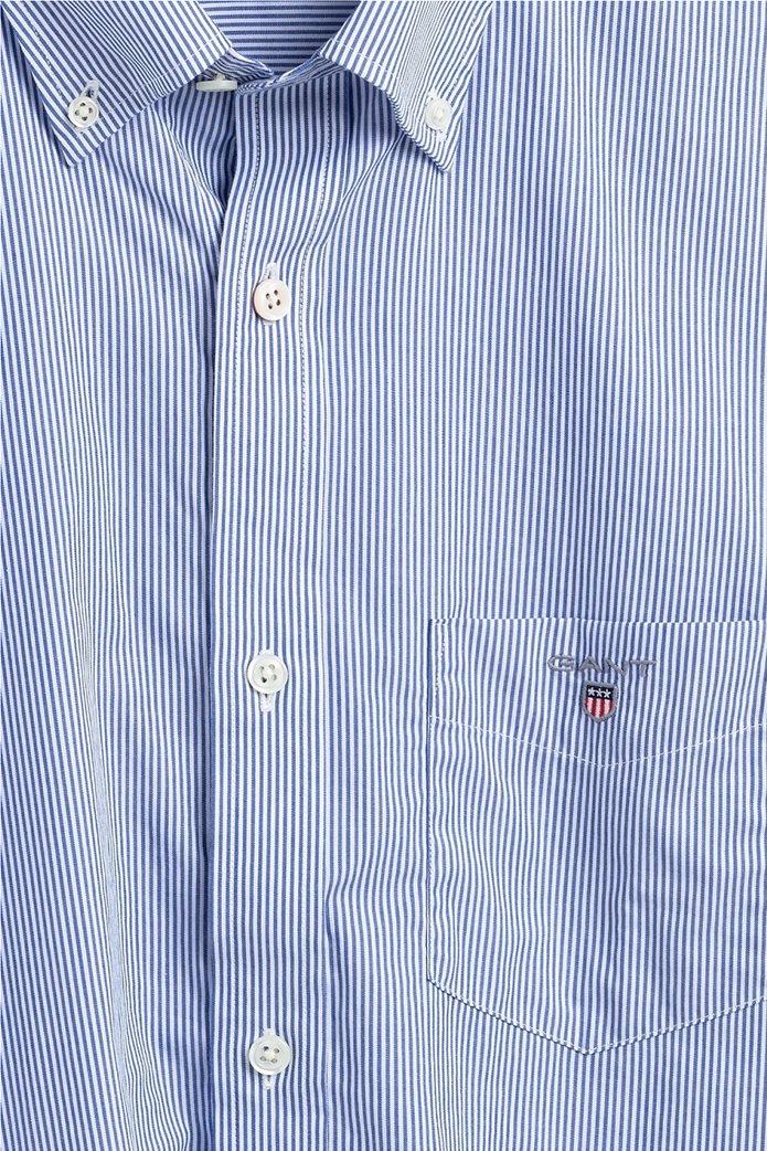 "Gant ανδρικό ριγέ πουκάμισο μακρυμάνικο ""Banker Broadcloth"" 1"