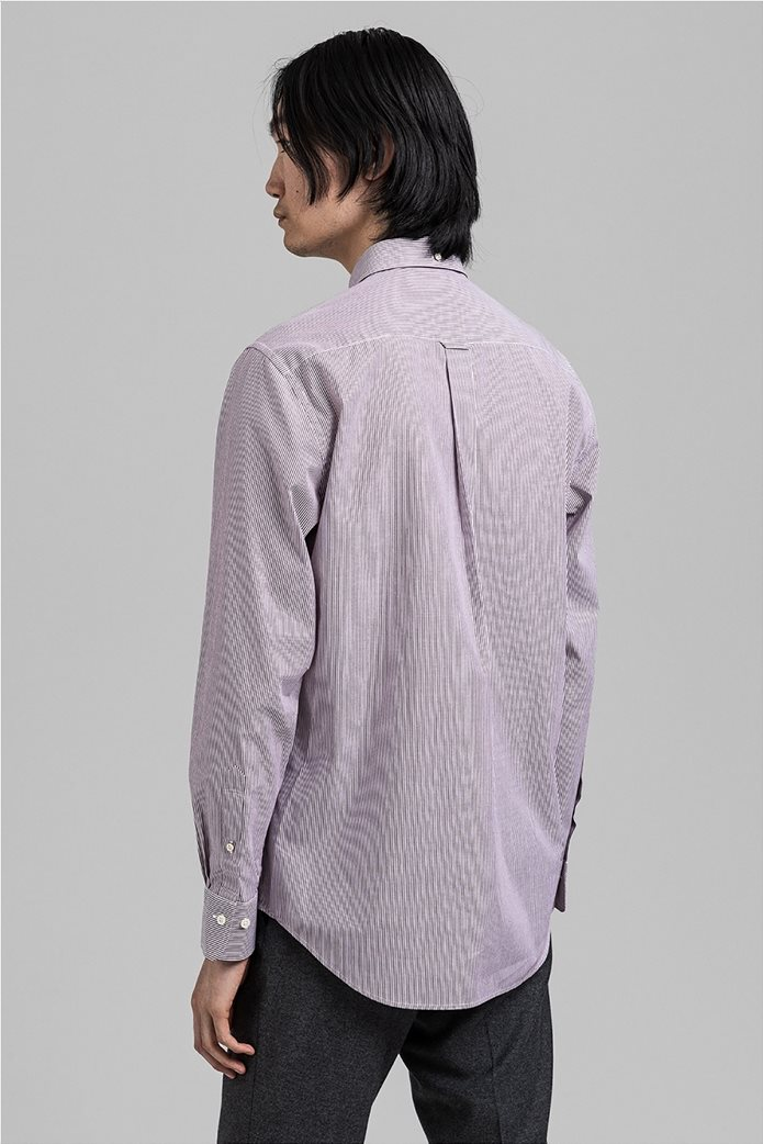 "Gant ανδρικό ριγέ πουκάμισο μακρυμάνικο ""Banker Broadcloth"" 2"