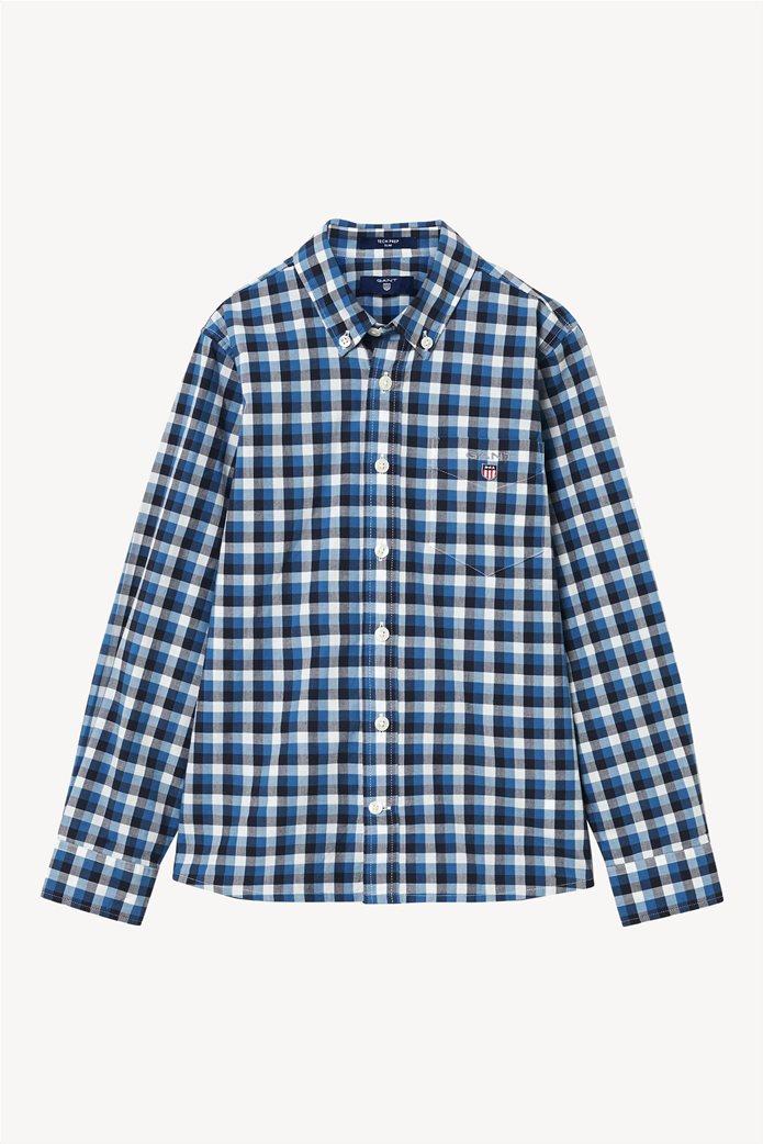 64e18152ceb8 GANT | Gant unisex παιδικό καρό πουκάμισο undefined | notos