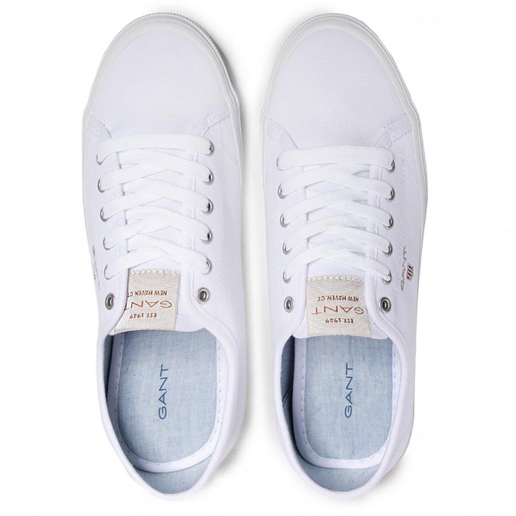 Gant γυναικεία sneakers ''Preptown'' Λευκό 3