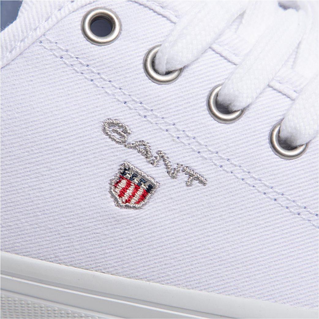 Gant γυναικεία sneakers ''Preptown'' Λευκό 4