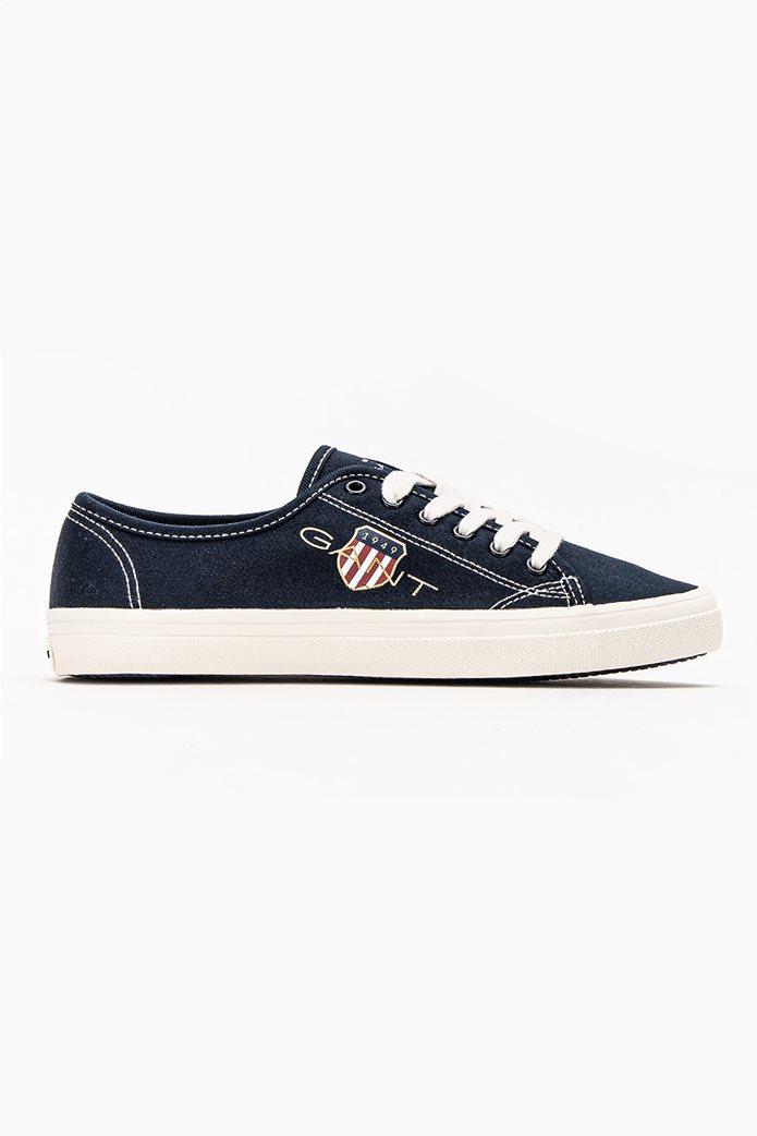 Gant γυναικεία sneakers με logo print ''Pillow'' Μπλε Σκούρο 0