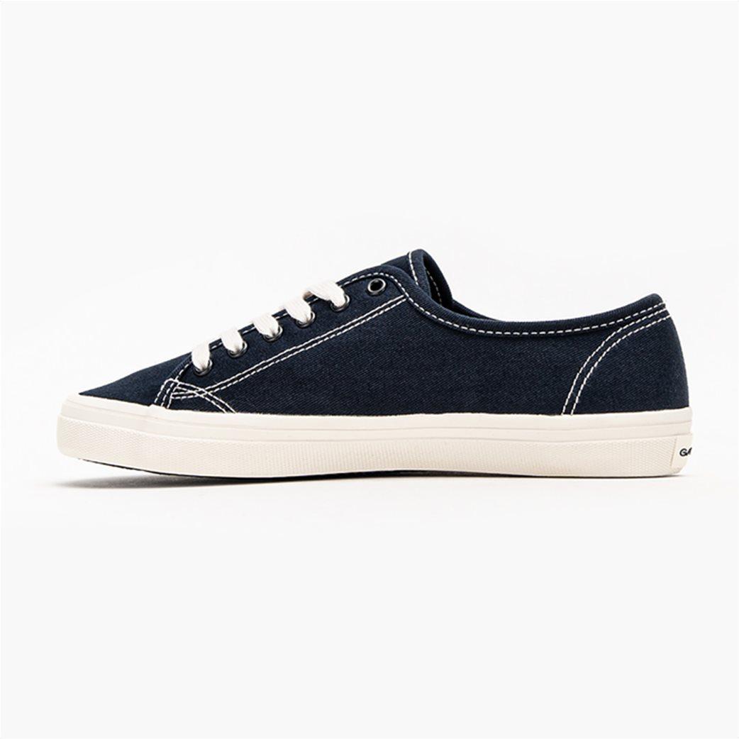 Gant γυναικεία sneakers με logo print ''Pillow'' Μπλε Σκούρο 2