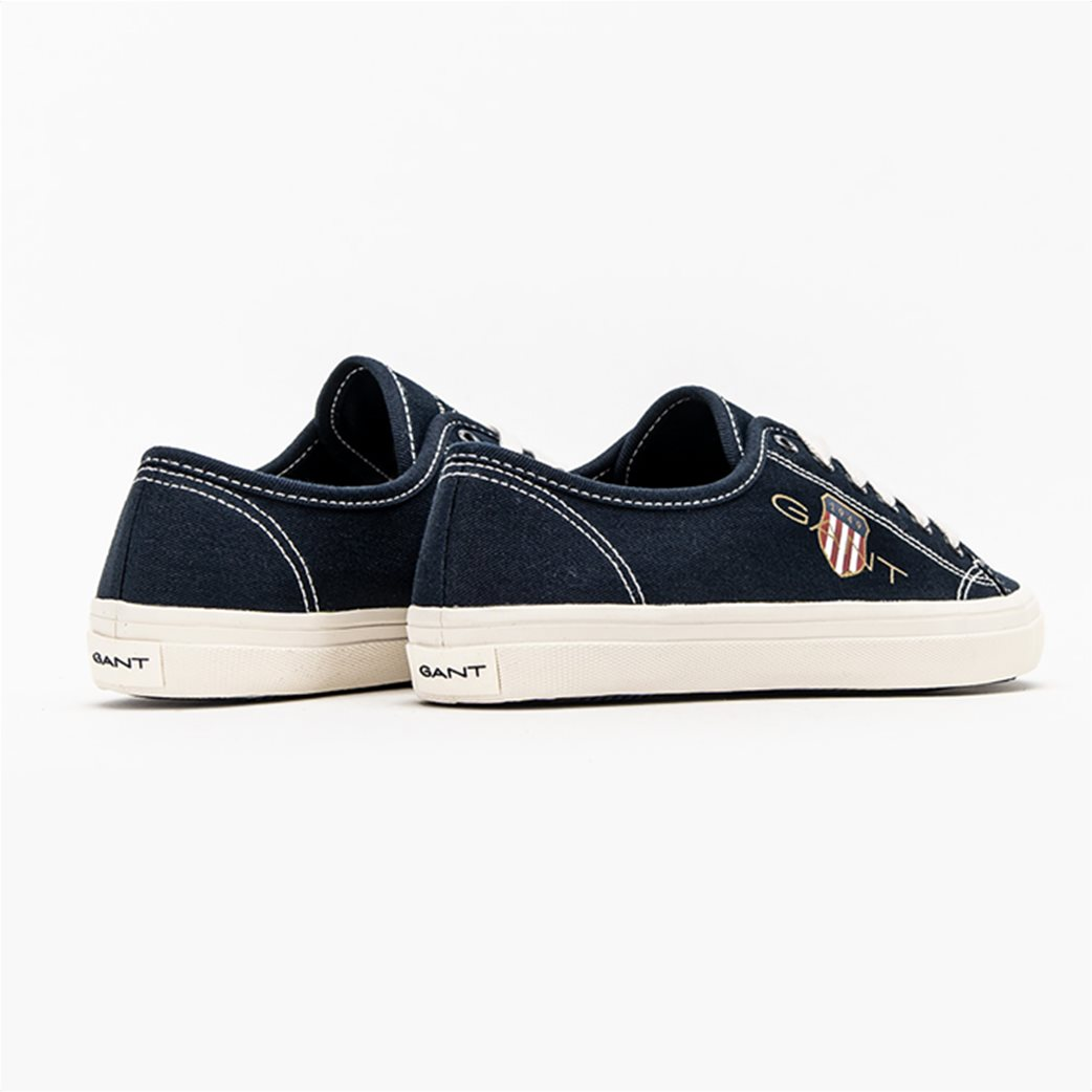 Gant γυναικεία sneakers με logo print ''Pillow'' Μπλε Σκούρο 3