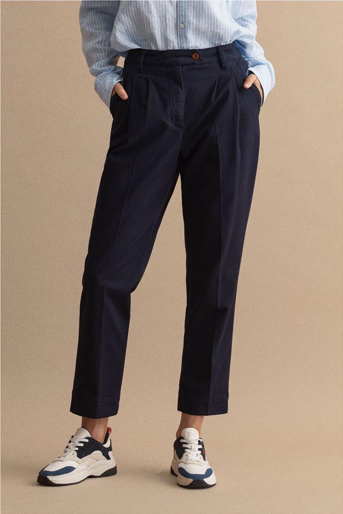 Gant γυναικείο chino παντελόνι ψηλόμεσο 1