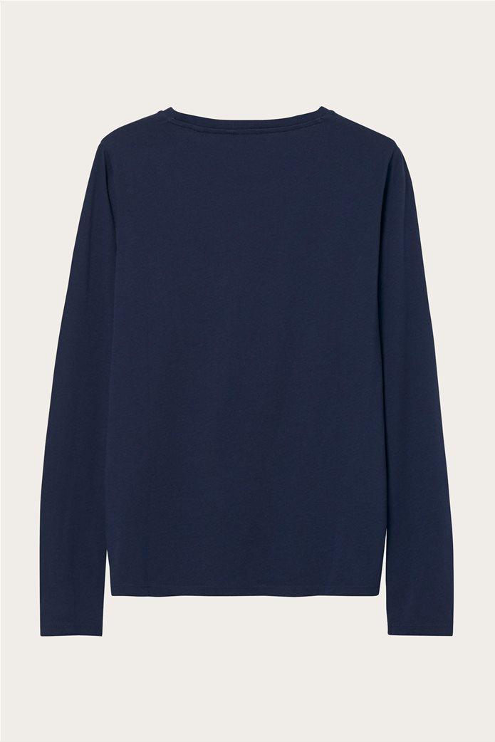 "Gant γυναικεία μπλούζα με logo print ""Arch Logo"" 2"
