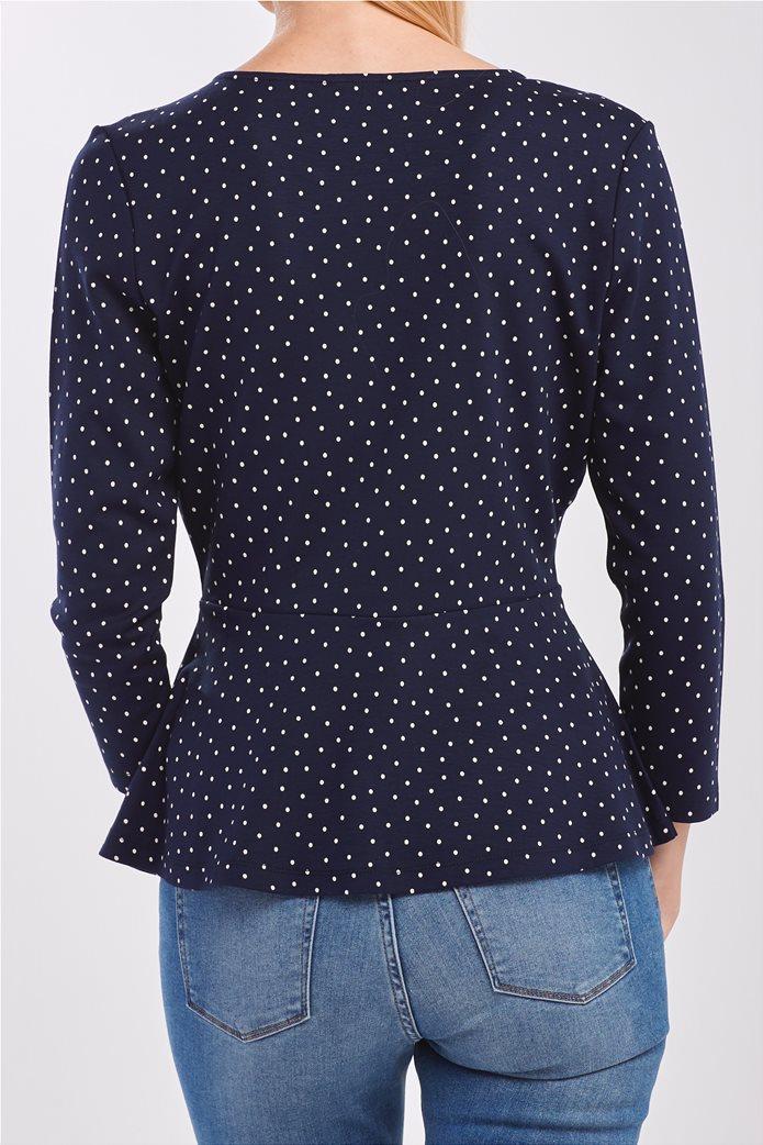 Gant γυναικεία μακρυμάνικη μπλούζα με πουά 2