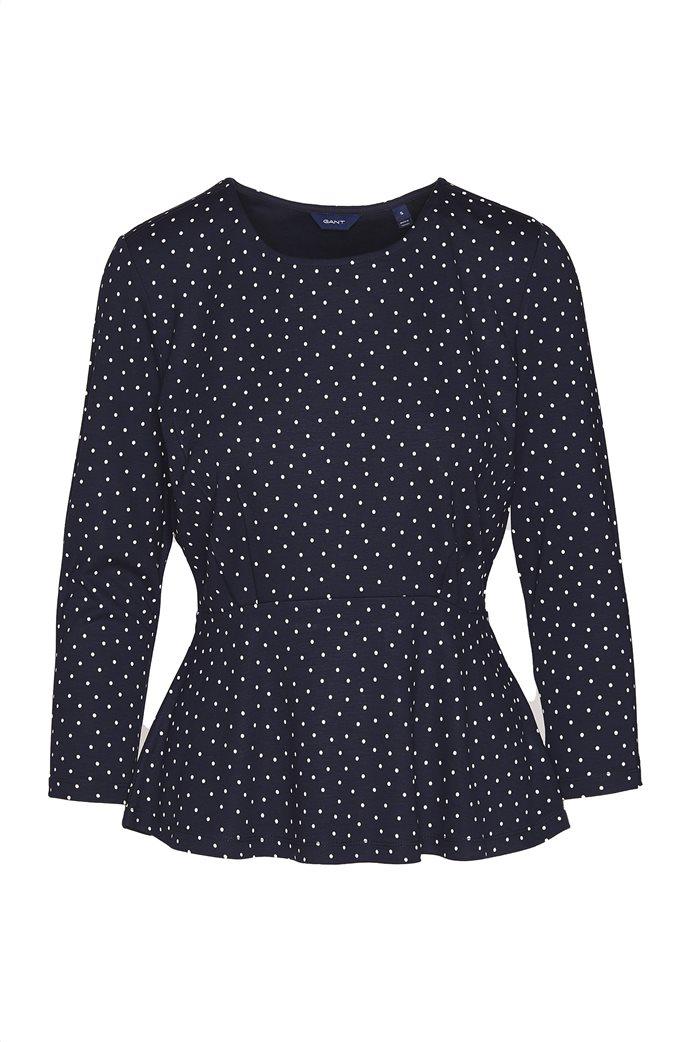 Gant γυναικεία μακρυμάνικη μπλούζα με πουά 3