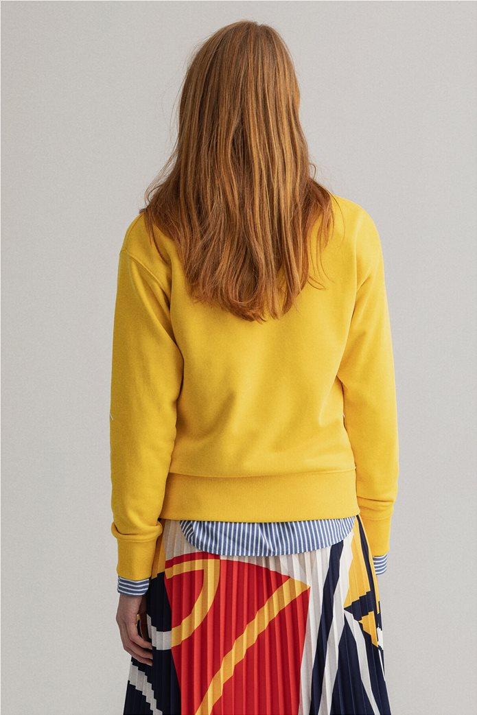 "Gant γυναικεία μπλούζα φούτερ με logo print ""Nautical"" 2"