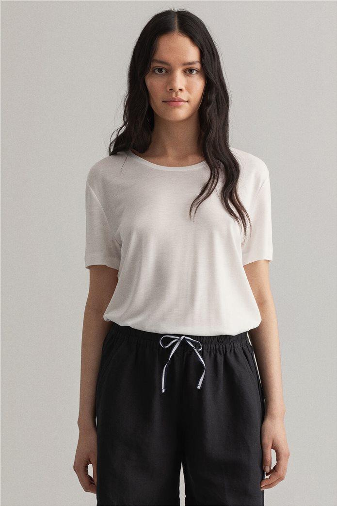 "Gant γυναικείο Τ-shirt μονόχρωμο ""Lightweight"" 0"