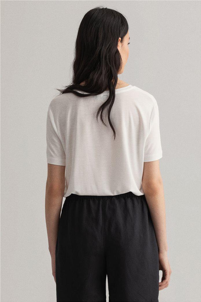 "Gant γυναικείο Τ-shirt μονόχρωμο ""Lightweight"" 1"