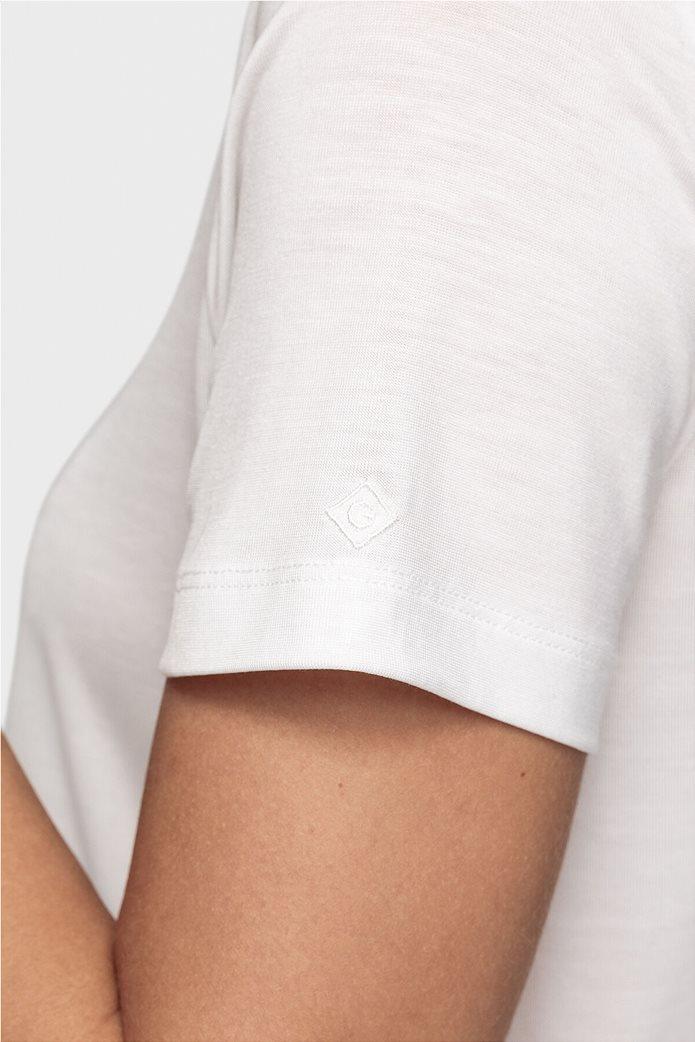 "Gant γυναικείο Τ-shirt μονόχρωμο ""Lightweight"" 3"