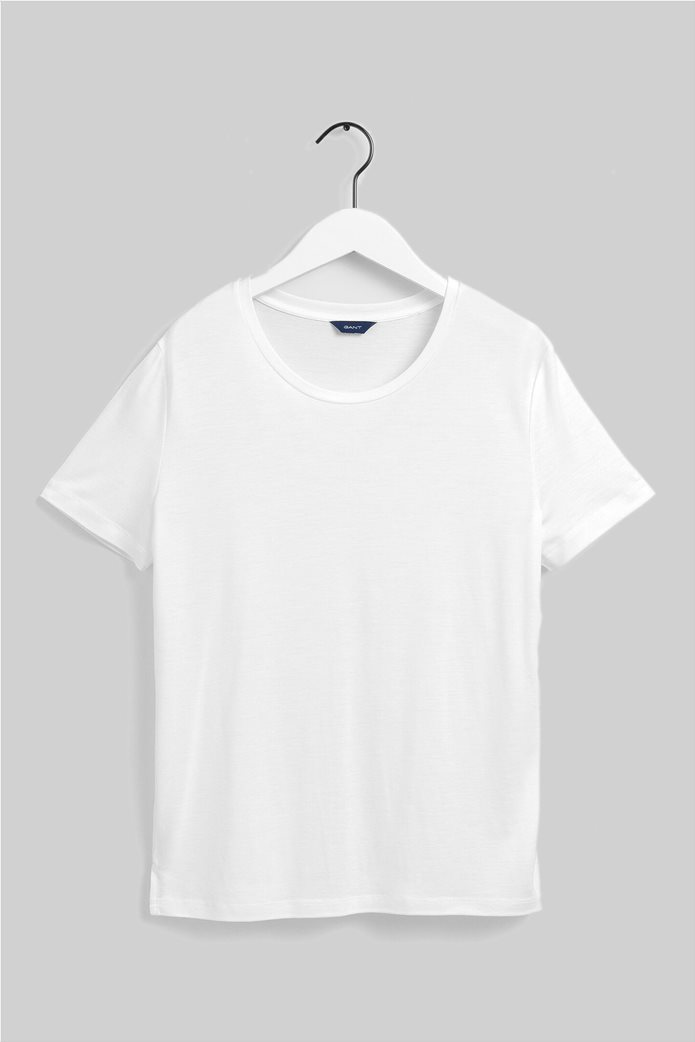 "Gant γυναικείο Τ-shirt μονόχρωμο ""Lightweight"" 5"