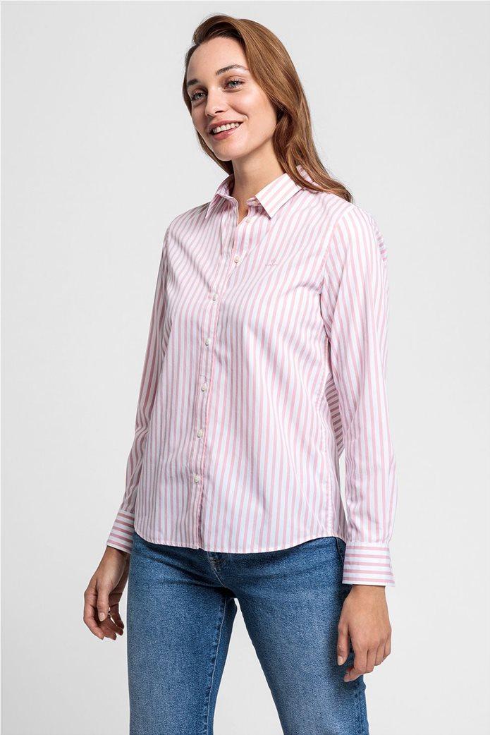 """Gant γυναικείο ριγέ πουκάμισο """"Poplin"""" 0"""