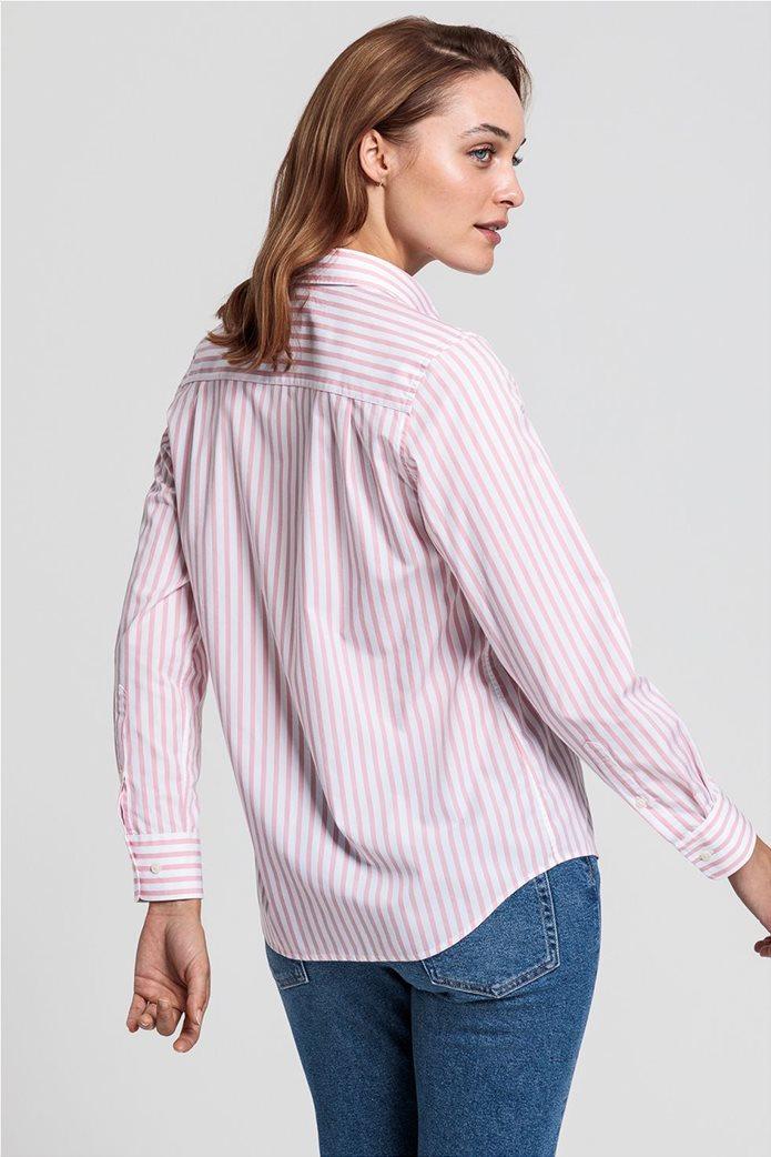 """Gant γυναικείο ριγέ πουκάμισο """"Poplin"""" 2"""