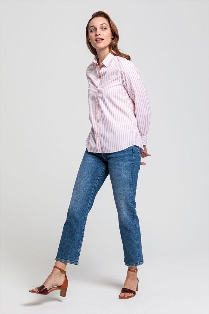 """Gant γυναικείο ριγέ πουκάμισο """"Poplin"""" 3"""