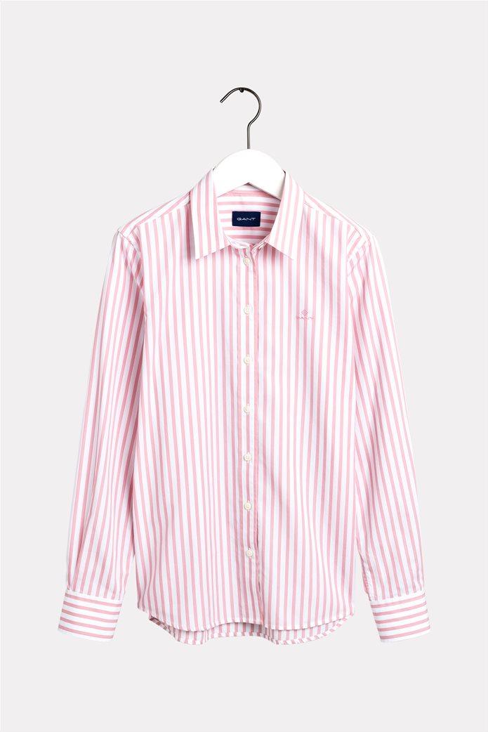 """Gant γυναικείο ριγέ πουκάμισο """"Poplin"""" 4"""