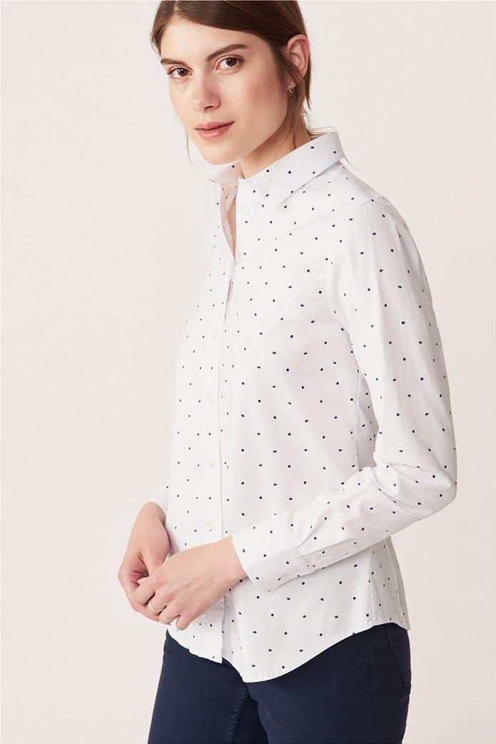 Gant γυναικείο πουκάμισο με all-over print 0