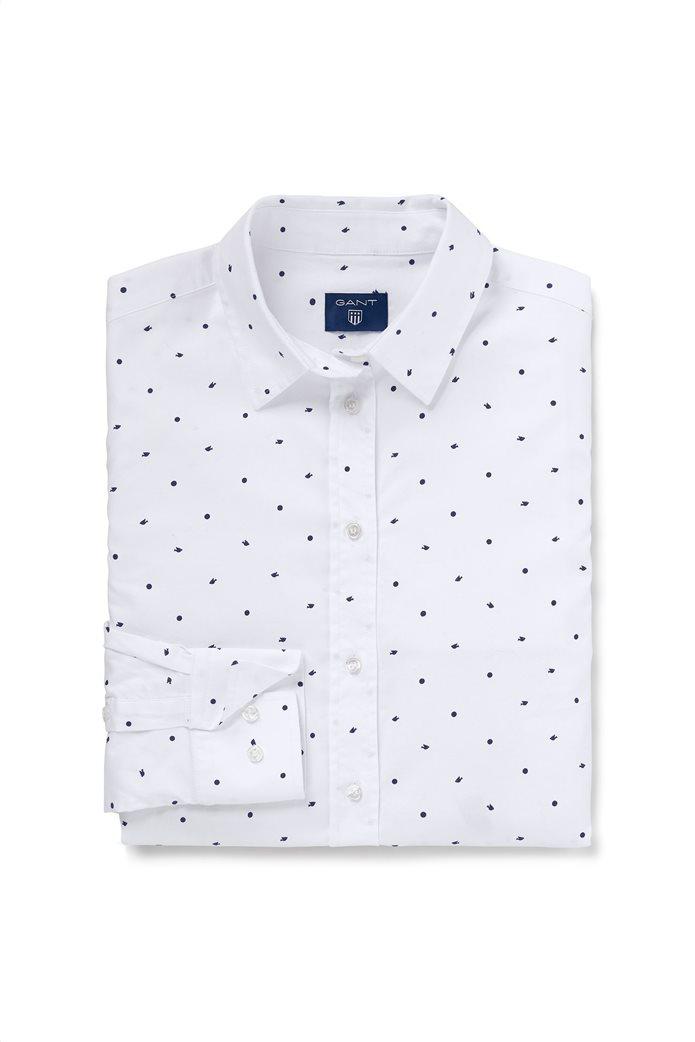 Gant γυναικείο πουκάμισο με all-over print 1