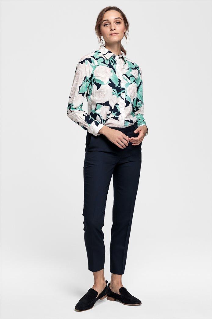 4350764678 Gant γυναικείο floral πουκάμισο Rose Voile 2