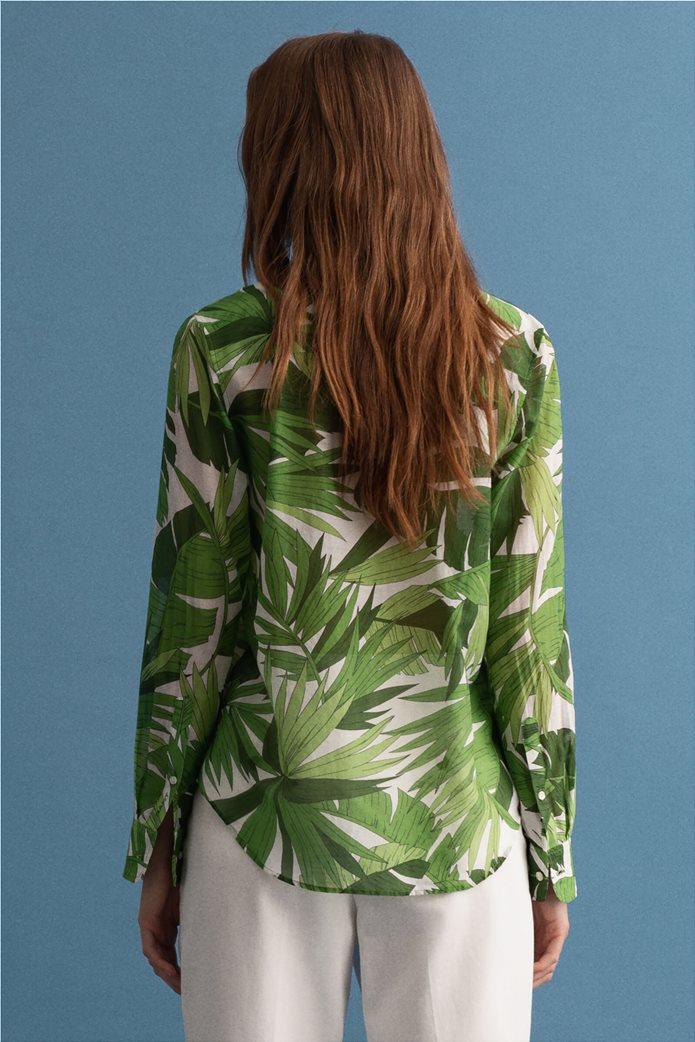 Gant γυναικείο πουκάμισο με all-over leaf print ''Palm Breeze'' 1