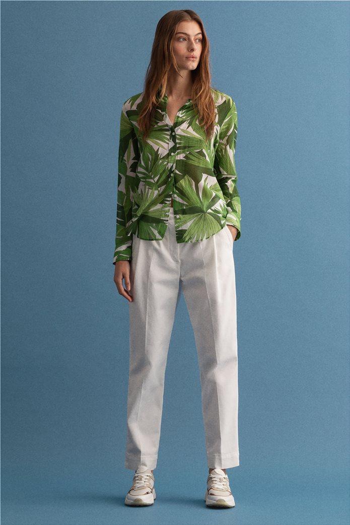 Gant γυναικείο πουκάμισο με all-over leaf print ''Palm Breeze'' 3