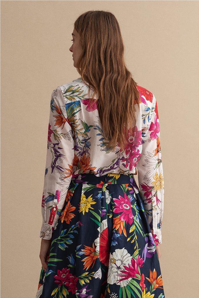 Gant γυναικείο πουκάμισο με all-over floral print Regular Fit 2