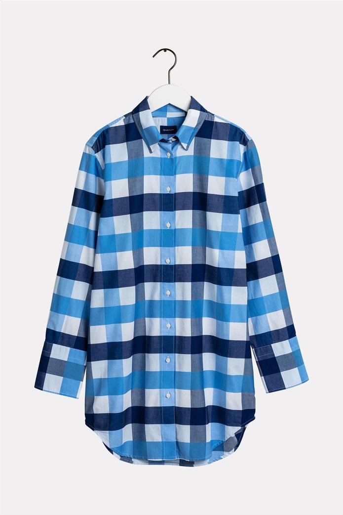 "Gant γυναικεία καρό πουκαμίσα ""Ocean Prep Gingham"" 0"