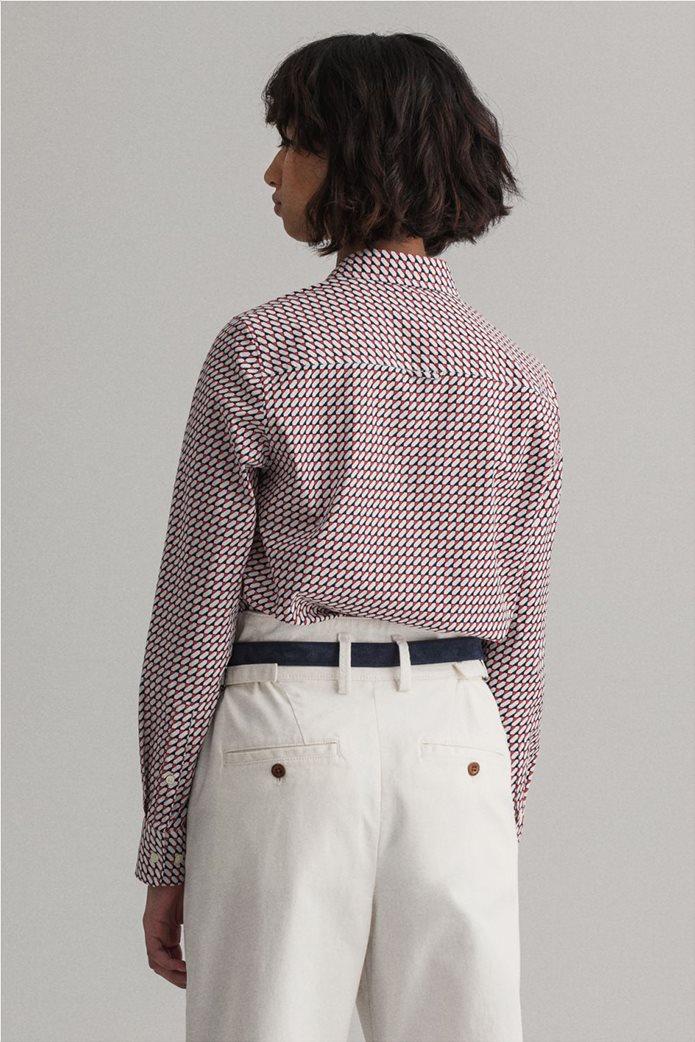 "Gant γυναικείο πουκάμισο με γεωμετρικό print ""Stretch Broadcloth"" 2"