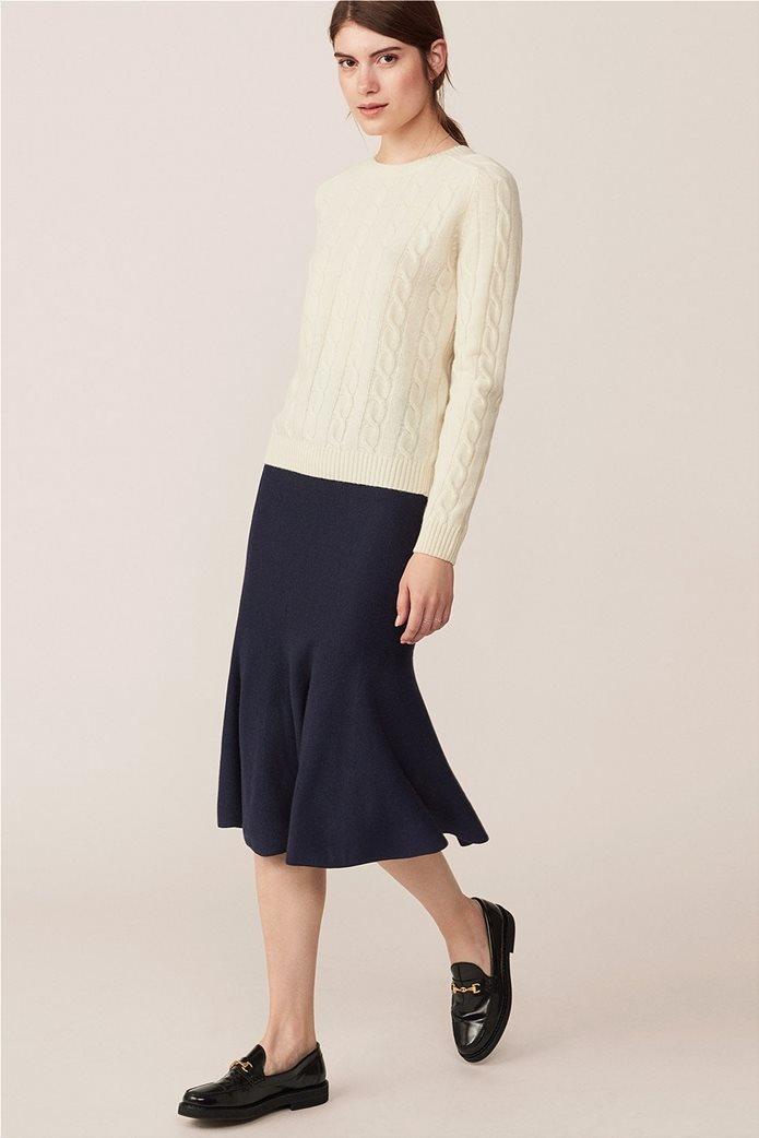 Gant  γυναικεία μίντι φούστα Flared Merino-Blend 0
