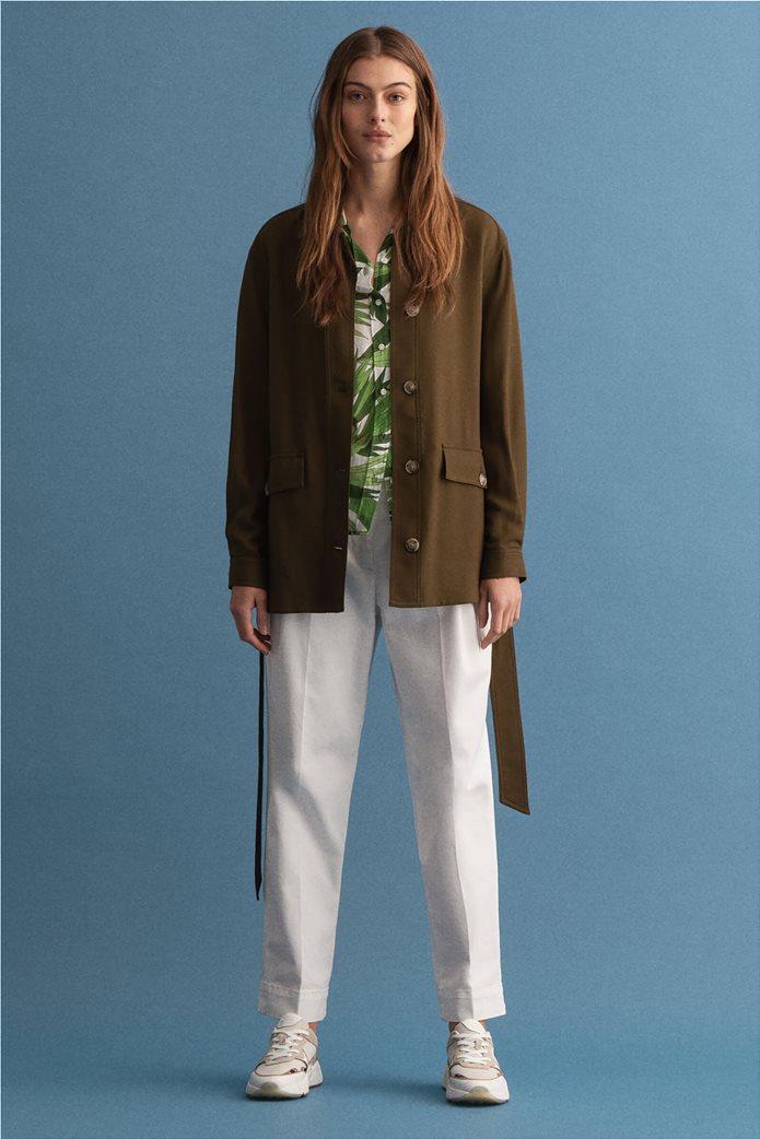 Gant γυναικείο utility jacket με ζώνη στη μέση ''Fluid'' 3