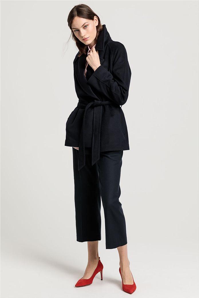 """Gant γυναικείο παλτό μάλλινο """"Wrap Coat"""" 0"""