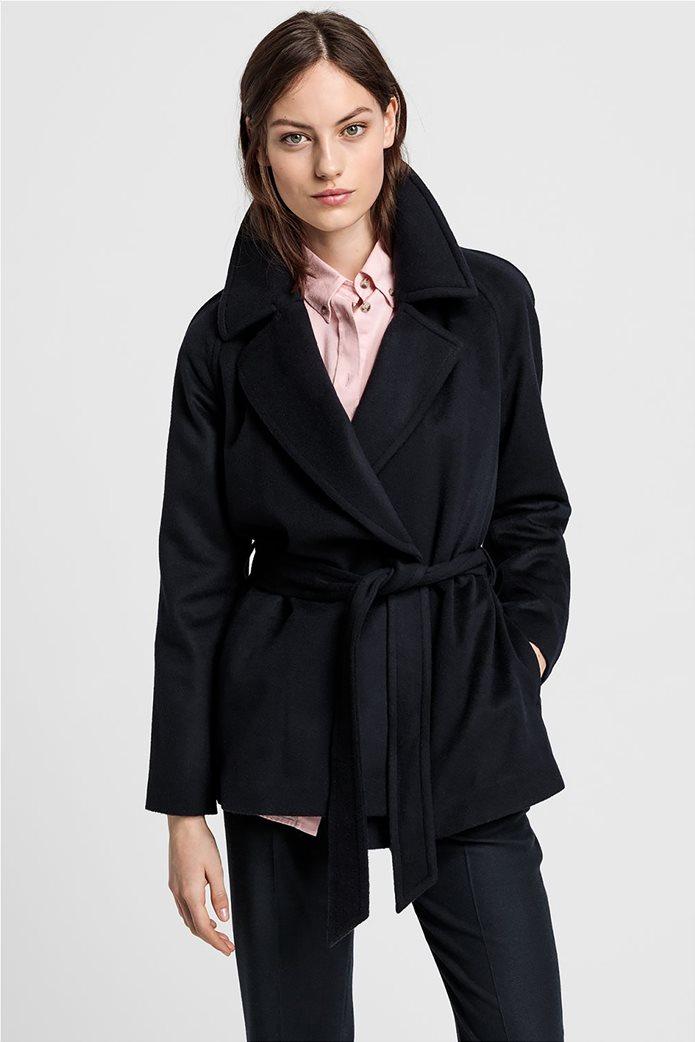 """Gant γυναικείο παλτό μάλλινο """"Wrap Coat"""" 2"""