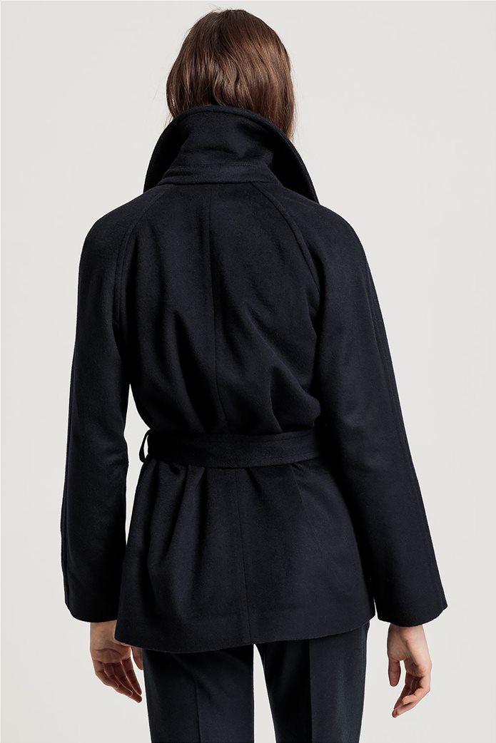 """Gant γυναικείο παλτό μάλλινο """"Wrap Coat"""" 3"""
