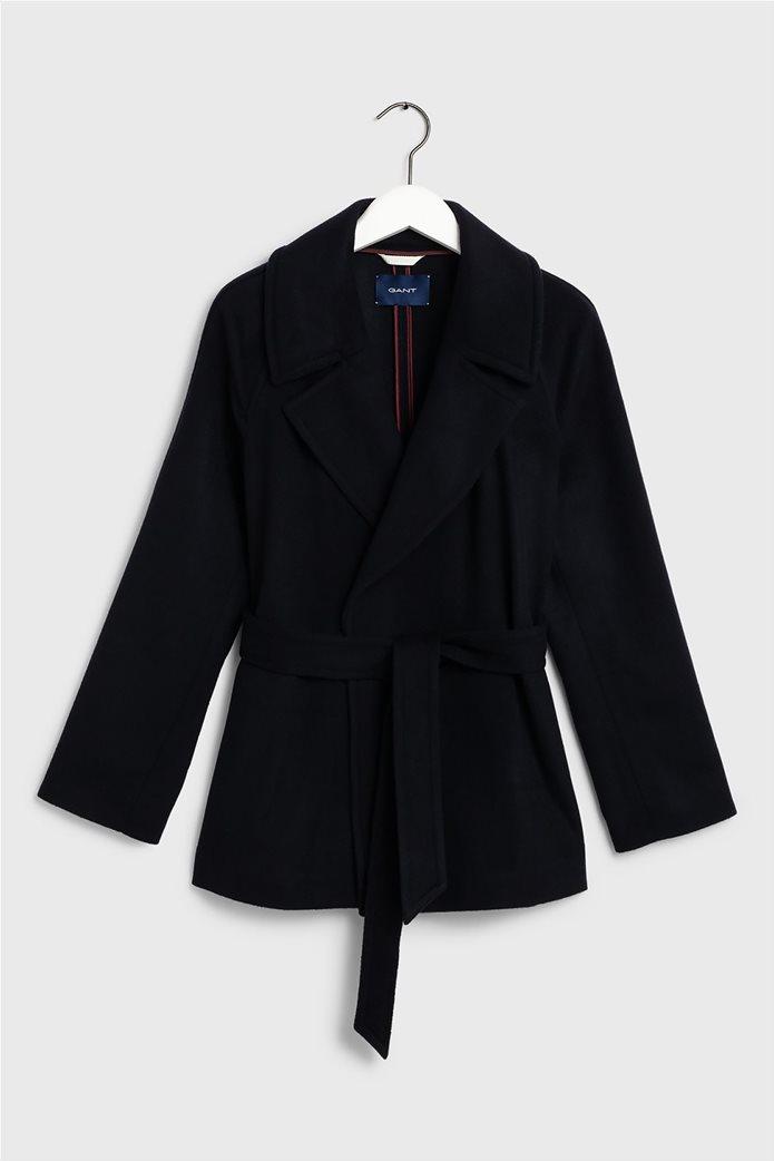"""Gant γυναικείο παλτό μάλλινο """"Wrap Coat"""" 4"""