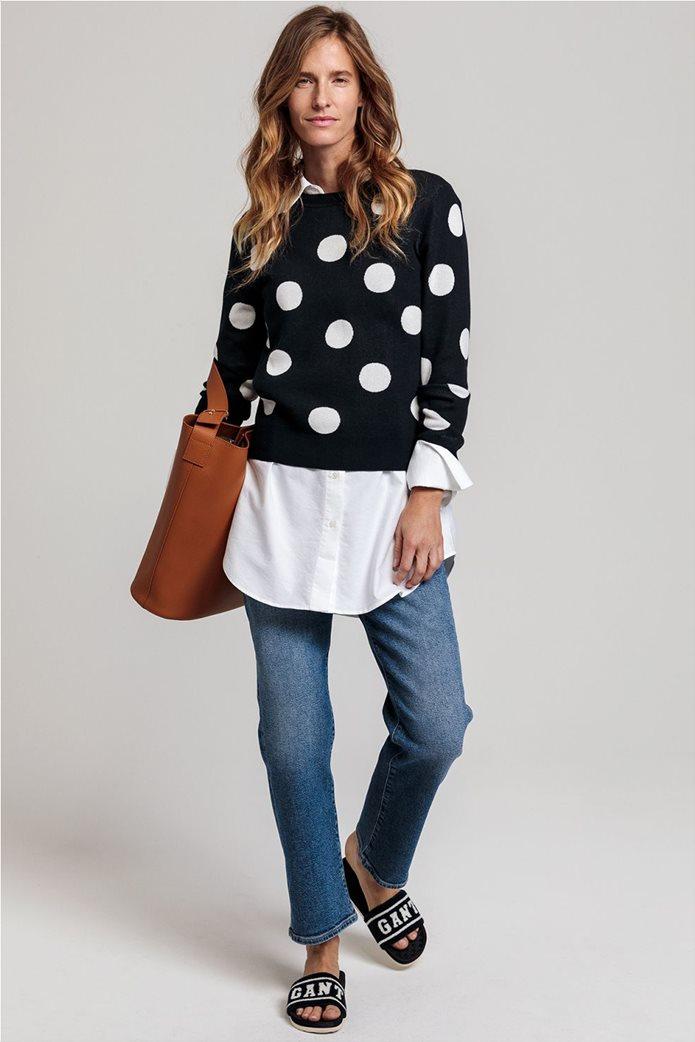 Gant γυναικείο πουλόβερ με μεγάλα πουά 1