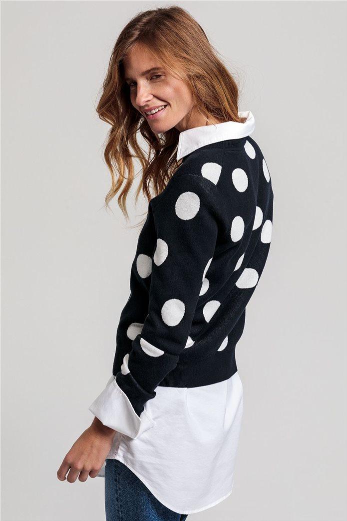 Gant γυναικείο πουλόβερ με μεγάλα πουά 2
